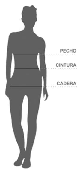 talla mujer