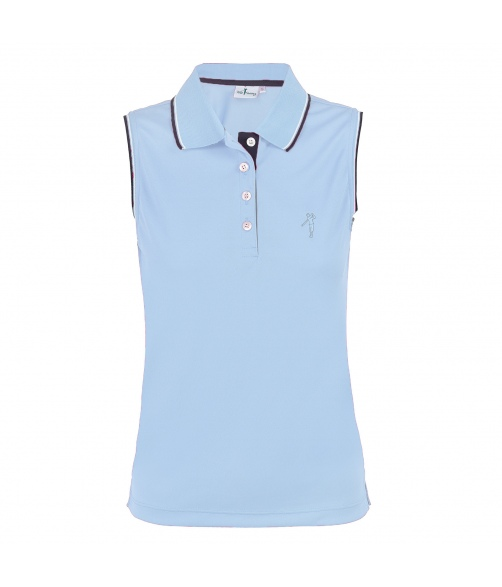 Polo dry swing bioactive with stripes in neck