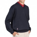 V-neck sweater junior