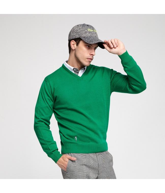 b988c7b7db Men>v-neck sweater. Jersey golf pico merino View larger