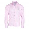 Camisa técnica rayas rosa