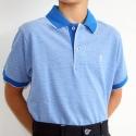 Cotton polo shirt junior