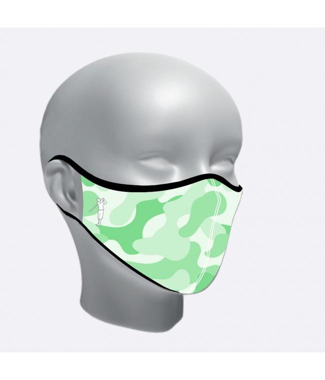 Mascarilla higienica Sport camuflaje junior