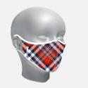 Mascarilla higiénica escocés