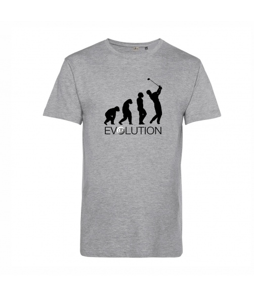 Camiseta ecológica golf Evolution