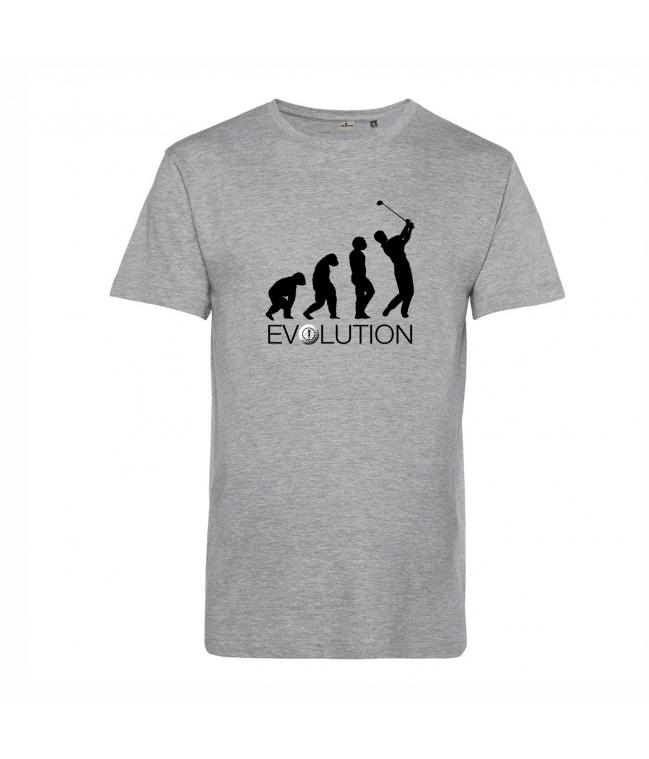 Camiseta ecológica golf Evolution