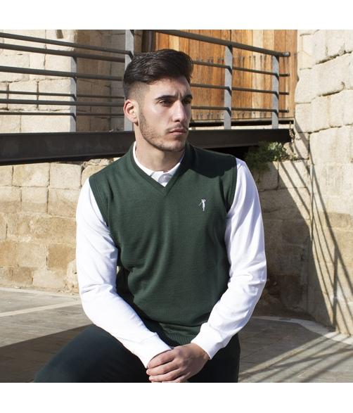 V-neck jacket