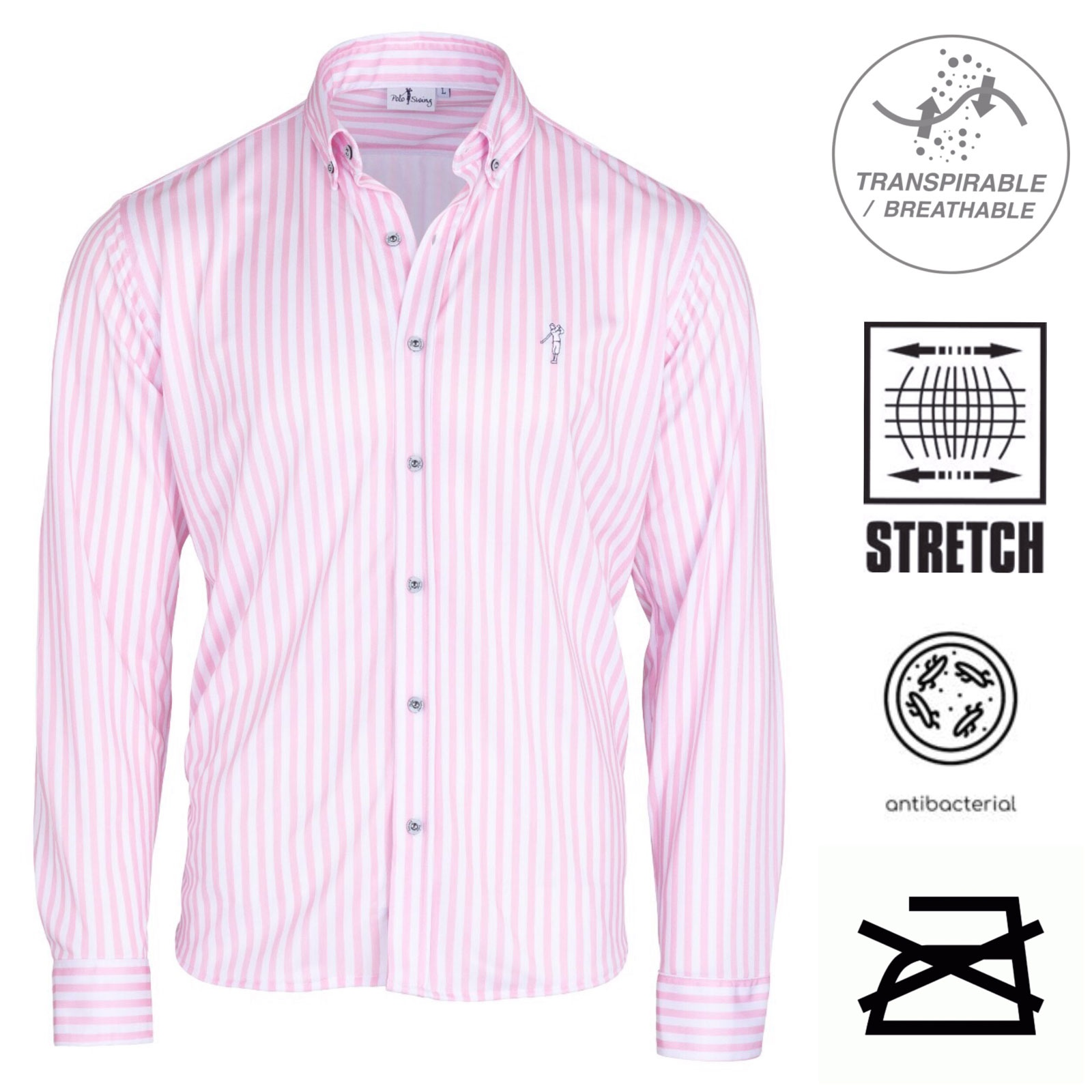 Camisa tecnica dry swing bioactive